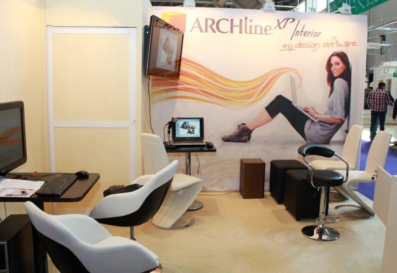Construma 2013 - ARCHLINE standja fehér, Impala Bútorkereskedő Kft.-nél kapható bútorokkal