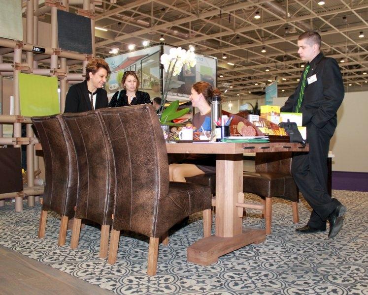 Construma 2013 - LOSZ 2013-as standján az Impala Bútorkereskedő Kft. bútorait is megtekinthették a látogatók