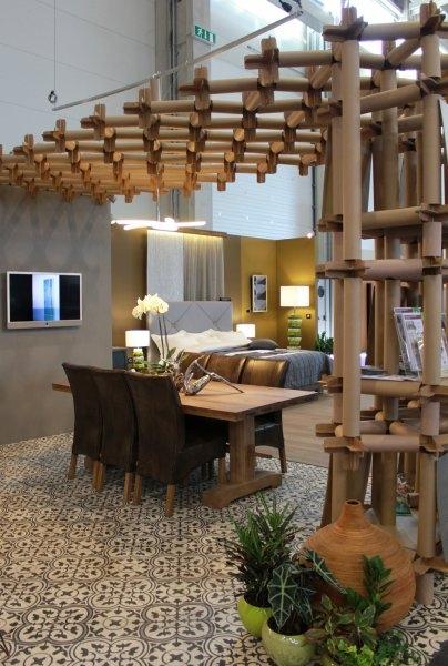 Construma 2013 - Nem csak a LOSZ standján, de bármelyik lakásban jól mutatnak az Impala Bútorkereskedő Kft. székei és asztalai