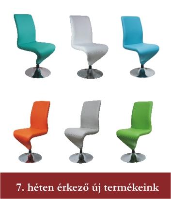 Hetedik héten érkező új termékeink - kárpitozott székek