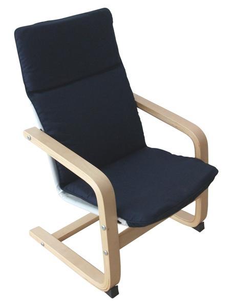 kék relax fotel