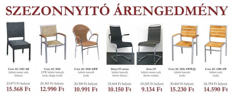 akciós kültéri bútorok