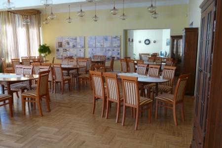 Óbudai Idősek Otthona, Budapest, Kiskorona utca - konyha székek