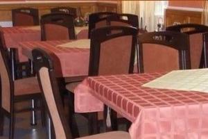 Pálma Étterem, Debrecen - Impala Bútorkereskedő Kft. EVELIN székek az asztal mellett