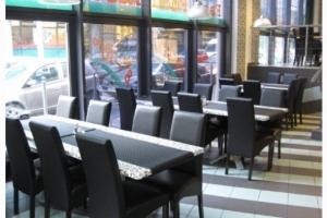 River Restaurant, Budapest - Ebédlő asztalok