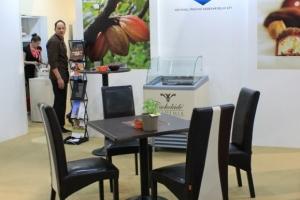 Sirha Kiállítás, 2014 - Egy kiállító, aki az Impala Bútorkereskedő Kft. székeit használta a standján