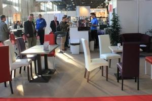 Sirha Kiállítás, 2014 - A kávézó és a bár részhez is az Impala Bútorkereskedő Kft. szolgáltatta a székeket és az asztalokat