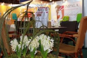 Sirha Kiállítás, 2014 - Még a növények mögül is jól látszott az Impala Bútorkereskedő Kft. standja
