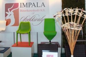 Sirha Kiállítás, 2014 - Az Impala Bútorkereskedő Kft. standjának székei
