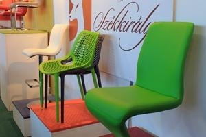 Sirha Kiállítás, 2014 - Az Impala Bútorkereskedő Kft. különleges színű székei