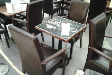 Szamos Marcipán – KÖKI Terminál - Impala asztalok cukrászdába