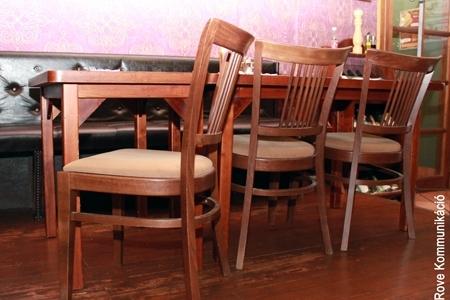 Vakvarjú Vendéglő, Buda - Az Impala Bútorkereskedő Kft. kényelmes székei
