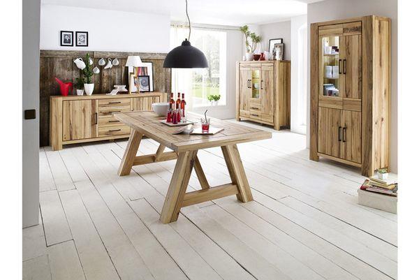 Bristol tömörfa tölgy asztal