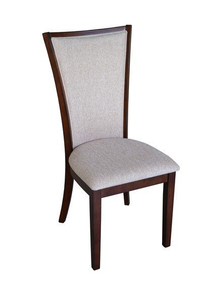 Rotunda kárpitozott szék dió, beige