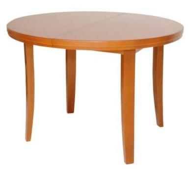 4455 nagyobbitható kerek asztal 110/150