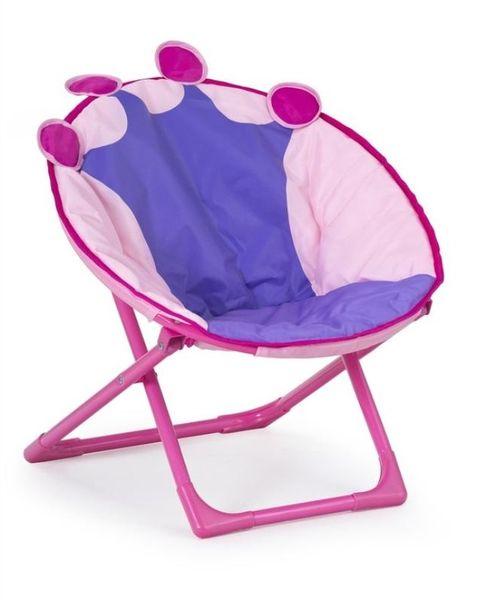 Queen összecsukható gyermek fotel, pink
