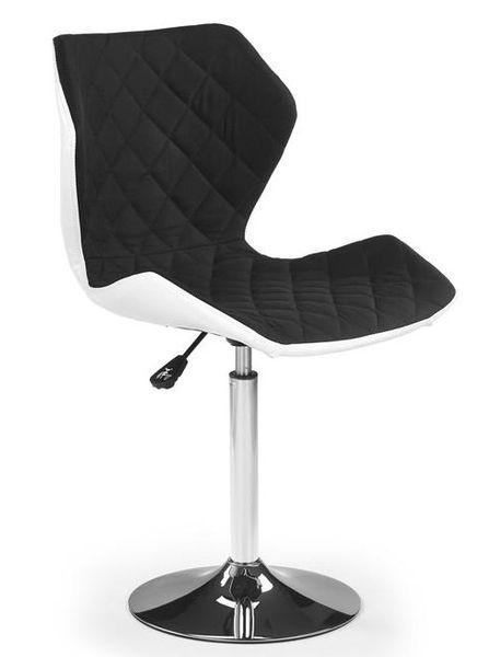 Matrix 2 gázliftes bárszék, króm láb, eco bőr/szövet