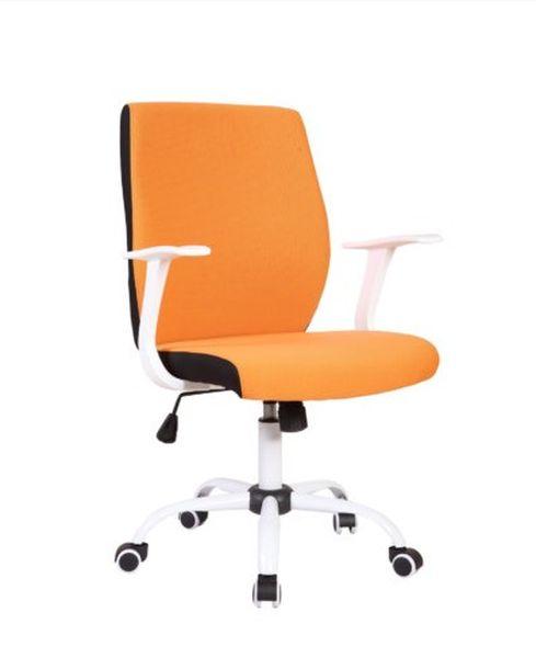 US 71 Micro irodai forgószék,fehér fém láb, fehér műanyag karfa