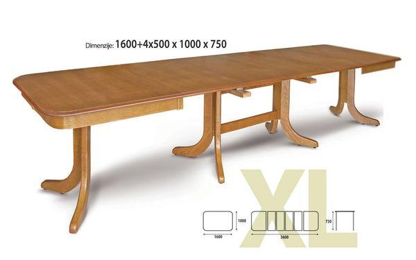 Labud  XL nagyobbítható asztal 100x140/340