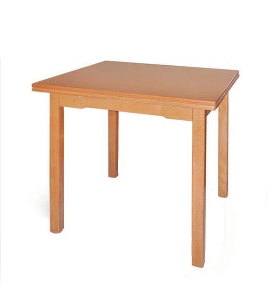 P-4 nagyobbítható asztal 80x80/130 cm