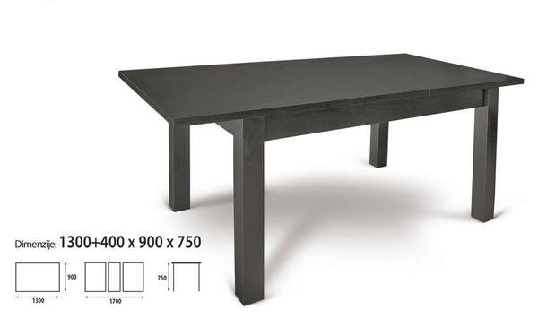 Sim nagyobbítható asztal 90x130/170