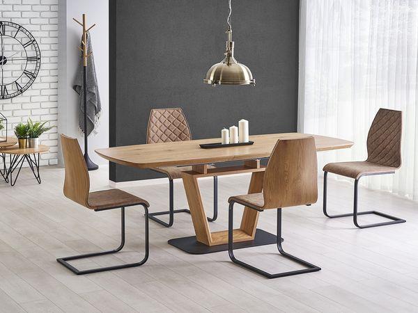 Blacky - K 265 étkezőgarnitúra (1 asztal   4 szék)