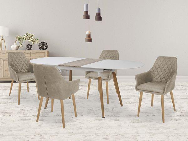 Caliber - K 287 étkezőgarnitúra (1 asztal   4 szék)