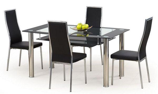 Cristal - K 86 étkezőgarnitúra (1 asztal   4 szék)