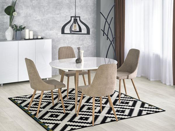 Edward - K 214 étkezőgarnitúra (1 asztal   4 szék)