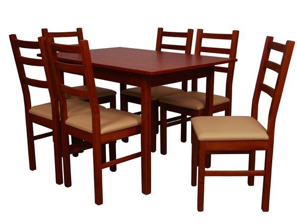 Elek - Panka étkezőgarnitúra (1 asztal   6 szék)