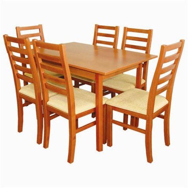 Elek - Viki étkezőgarnitúra (1 asztal   6 szék)
