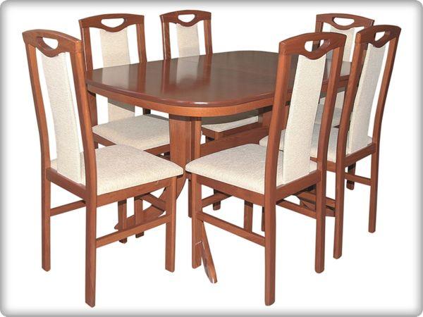 Héra - Éva étkezőgarnitúra (1 asztal   6 szék)