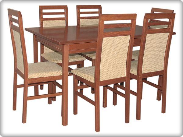 Mars - Szilvia étkezőgarnitúra (1 asztal   6 szék)