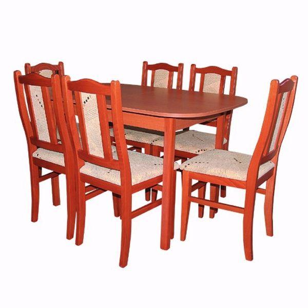 Ádám - Varia étkezőgarnitúra (1 asztal   6 szék)
