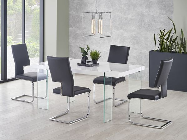 Milton - K 294 étkezőgarnitúra (1 asztal   4 szék)