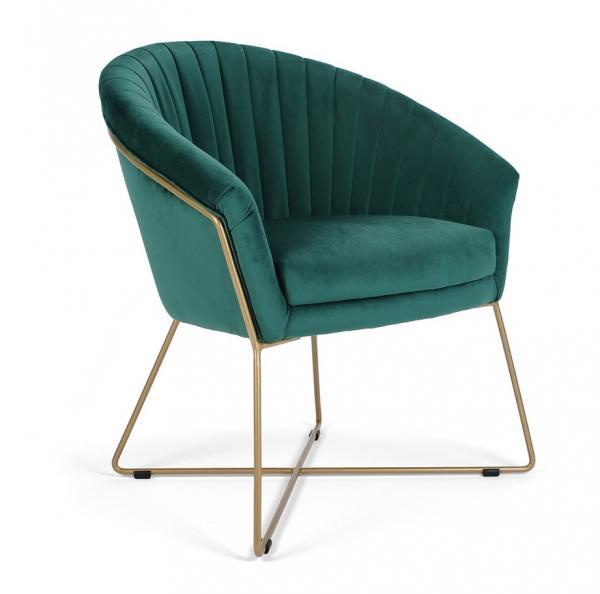 Felice kárpitozott fémvázas fotel