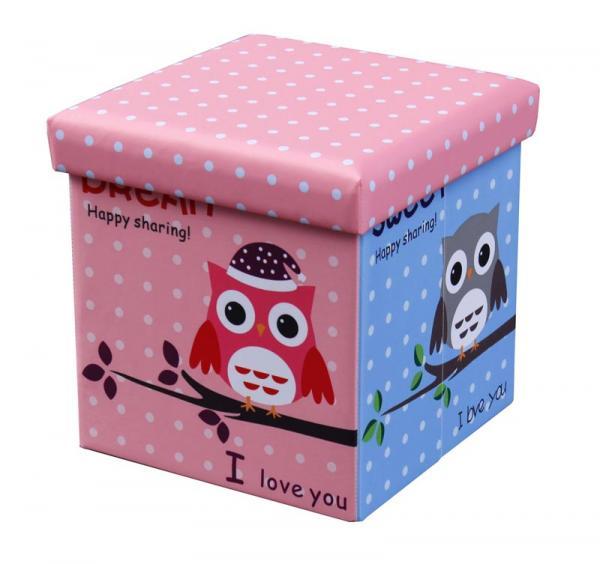 Moly Owl belső tárolós puff baglyos