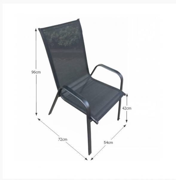 Aldera kerti rakásolható szék
