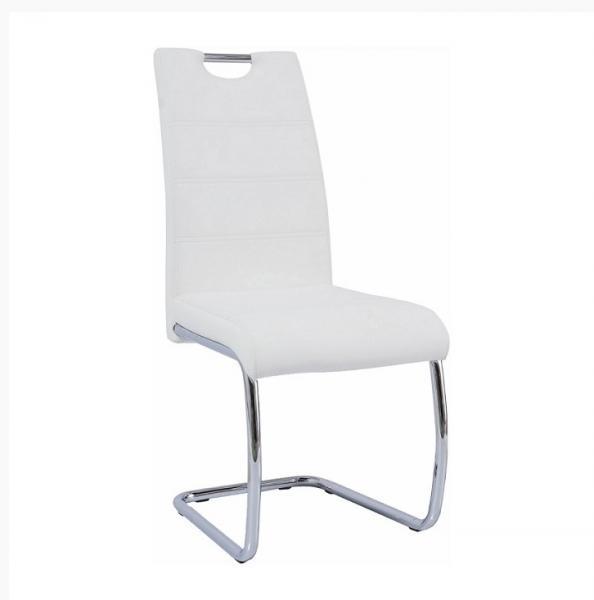 Abira kárpitozott fémvázas szék