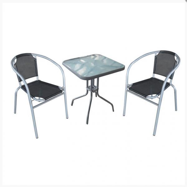 Denzer kerti szett,1 db asztal 2 db szék