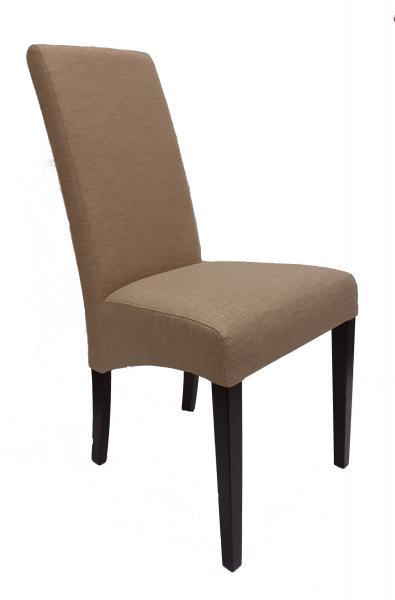 Flóra kárpitozott szék, Hopper sand 03, B/wenge