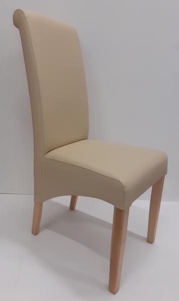 Silva Plus kárpitozott szék,Pu Soft 202,natur