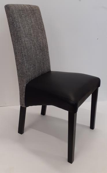 Larissa/E kárpitozott szék,BSA-Soft 011/Lava2 ,6 sötét wenge