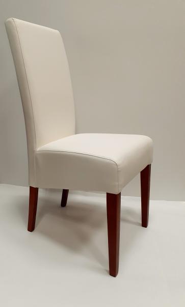 Lungo kárpitozott szék,Pu Soft 102,t.tresnja (sötét cser.)
