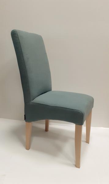Torino kárpitozott szék,Musa Blue Grey,15 Milk