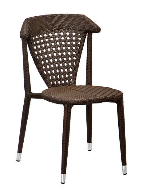 Michael kültéri szék barna fonott