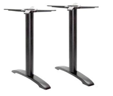 Aberdeen-2 asztalláb fekete