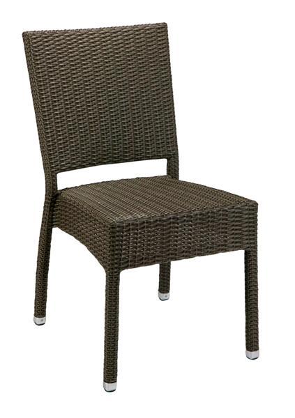 Mezza kültéri műrattan szék