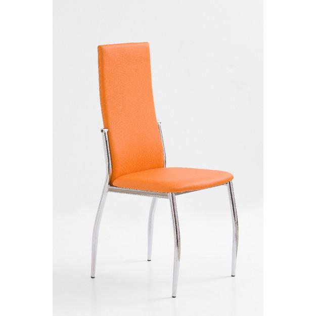 K-3 fémvázas szék, króm, PVC