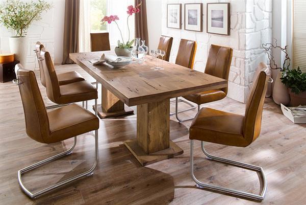 Manchester tömörfa tölgy asztal fix